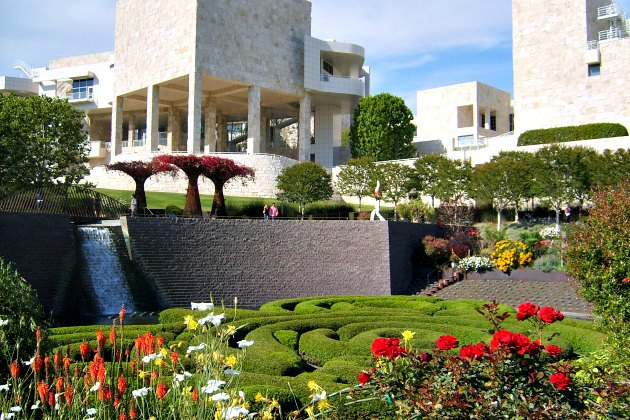 Los Angeles Getty Center gardens
