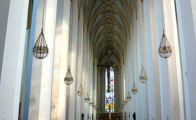 Munich Frauenkirche lanterns