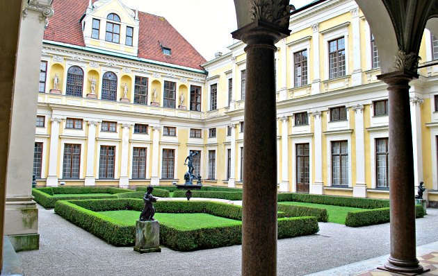 Munich Residenz Courtyard New