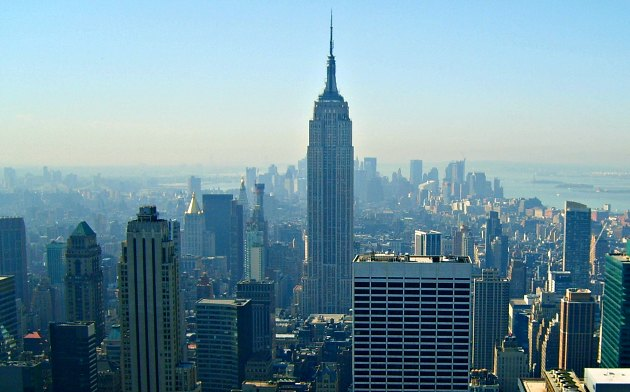 New York Empire State Building Skyline New