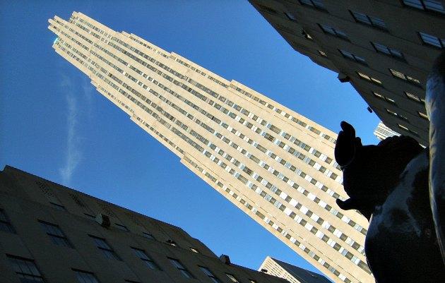 New York Rockefeller Center Art