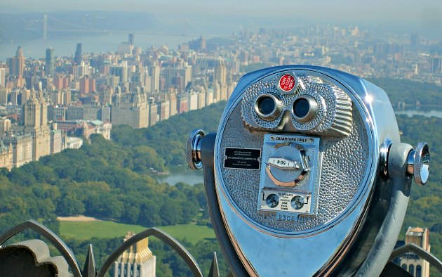 New York Top Of The Rock Binoculars