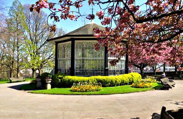 Nottingham Castle Bandstand