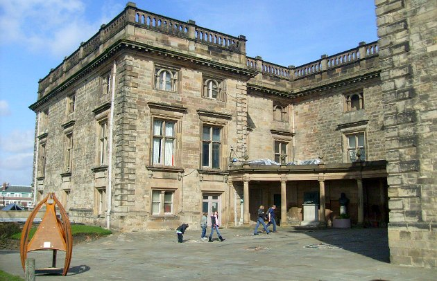 Nottingham Castle Main Entrance