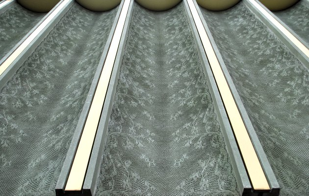 Nottingham Contemporary Lace Panels Large