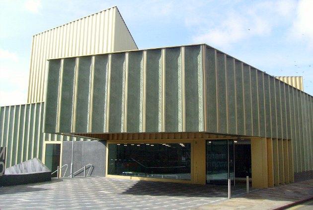 Nottingham Contemporary Main Entrance