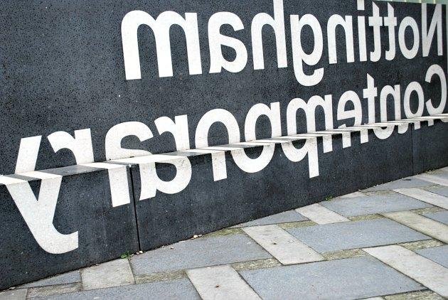 Nottingham Contemporary Sign New