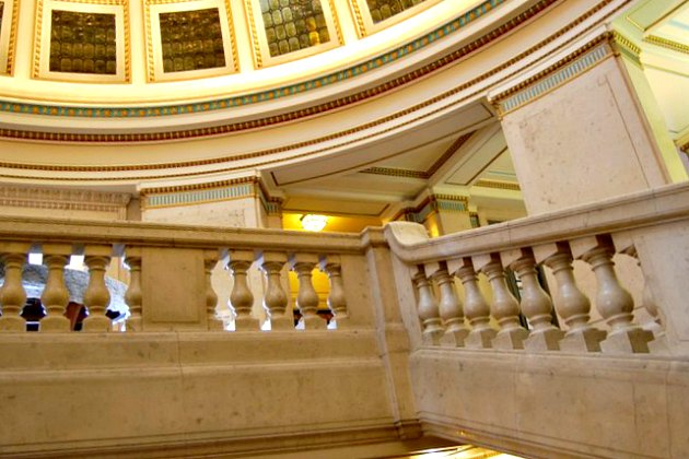 Nottingham Council House Marble Stairs