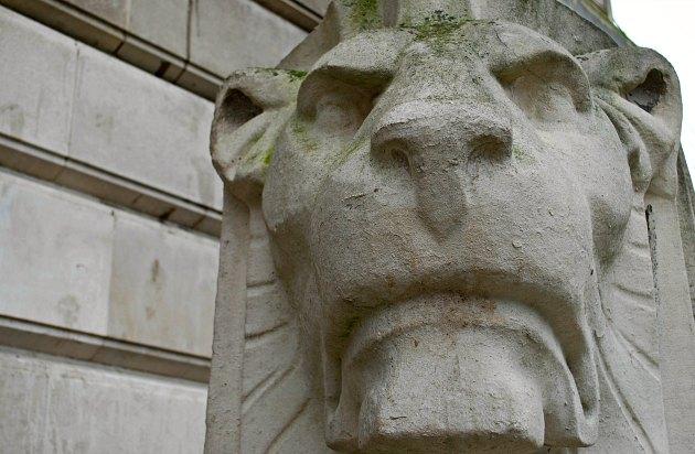 Nottingham Council House Right Lion