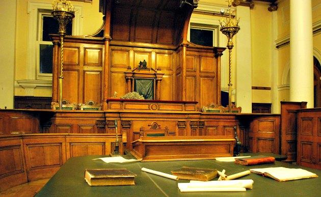 Nottingham Justice Museum Court Room