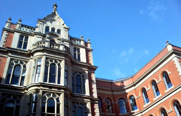 Nottingham Lace Market Adam's Building