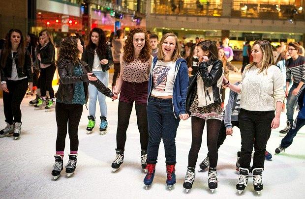 Nottingham National Ice Centre skaters