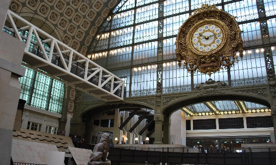 Musee d'Orsay internal clock (www.free-city-guides.com)