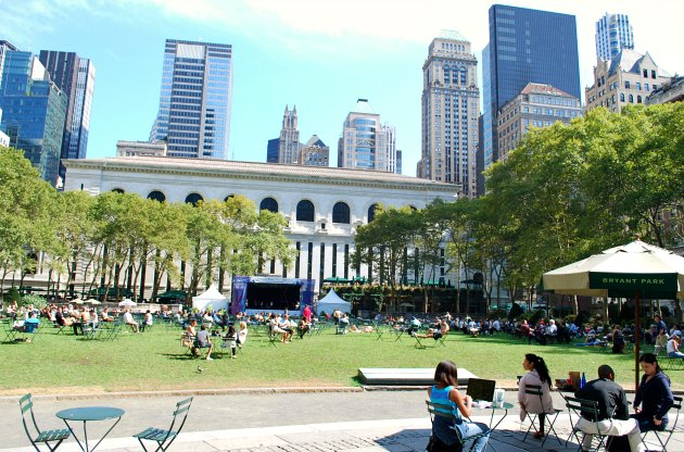 new york bryant park new