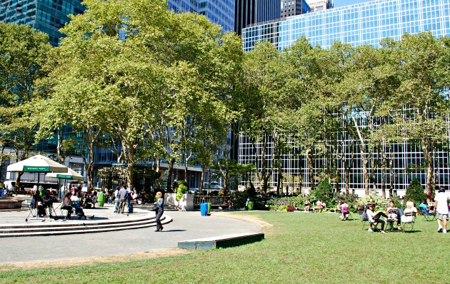 new york bryant park trees