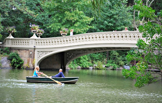 New York Central Park Bridge