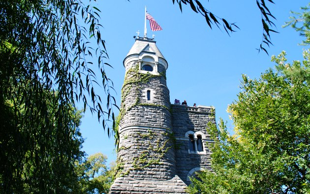 New York Central Park Belvedere Castle