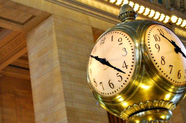 New York Grand Central Clock