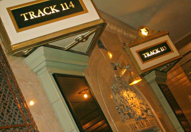 New York Grand Central Track Doorways