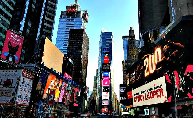 New York Times Square Wide