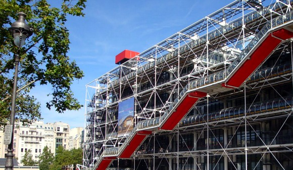 Paris Centre Pompidou front
