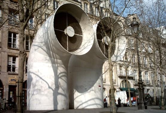 Paris Centre Pompidou funnels