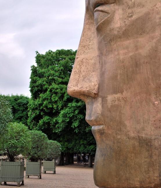Paris Jardin du Luxembourg face