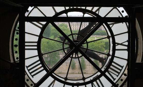 Paris Musee d'Orsay clock