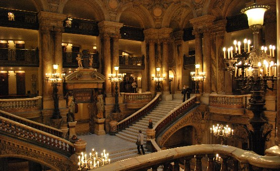 Paris Opera staircase