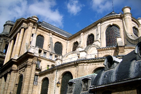 Paris Saint Sulpice rear exterior