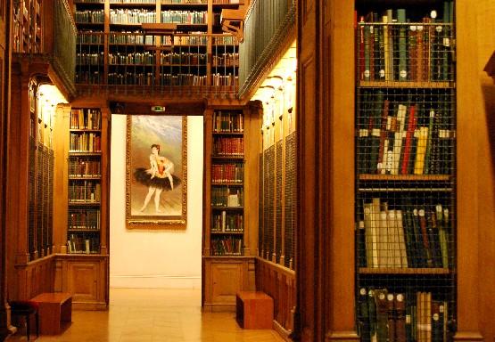 Paris opera library