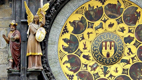 Prague Astronomical Clock Figures