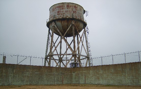 San Francisco Alcatraz excercise yard