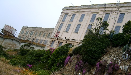 San Francisco Alcatraz prison