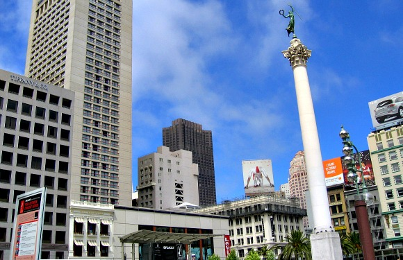 San francisco union square column