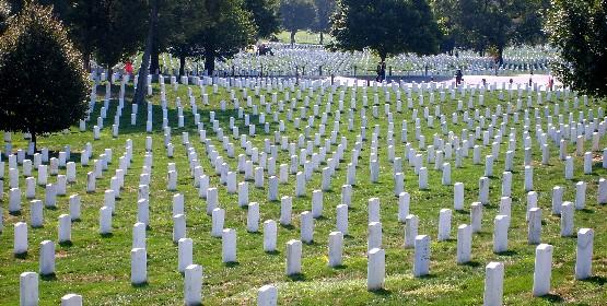 Washington Arlington Cemetery graves (www.free-city-guides.com)