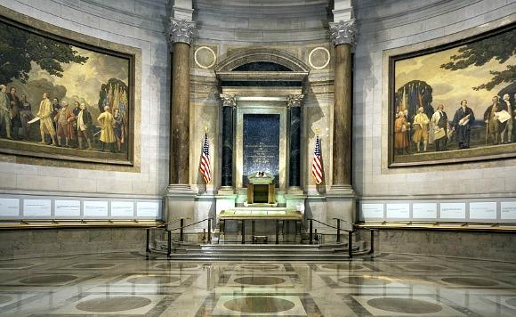 Washington National Archives Freedom Hall
