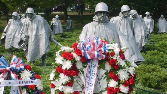Washington National Mall Korean Veterans Memorial (www.free-city-guides.com)