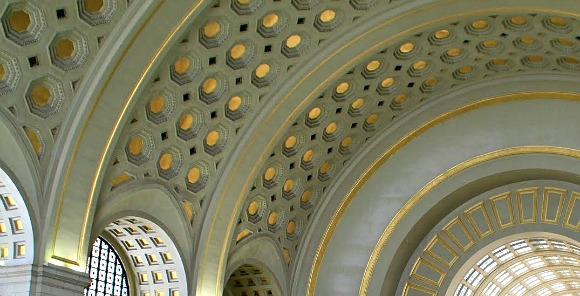 Washington Union Station Ceiling