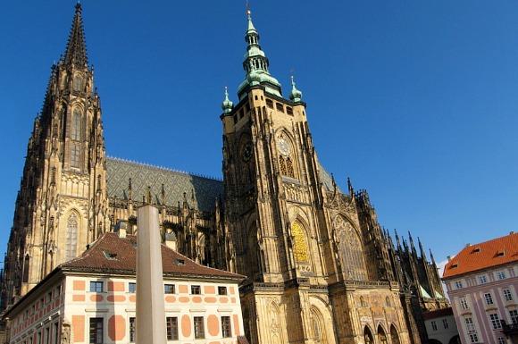 Prague St Vitus Exterior