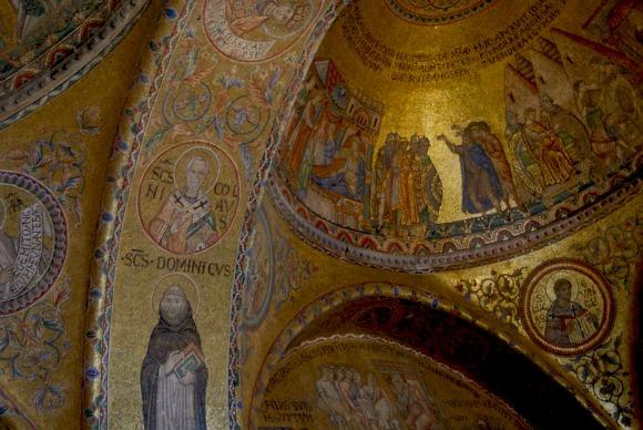 Venice St Mark's Basilica Mosaics