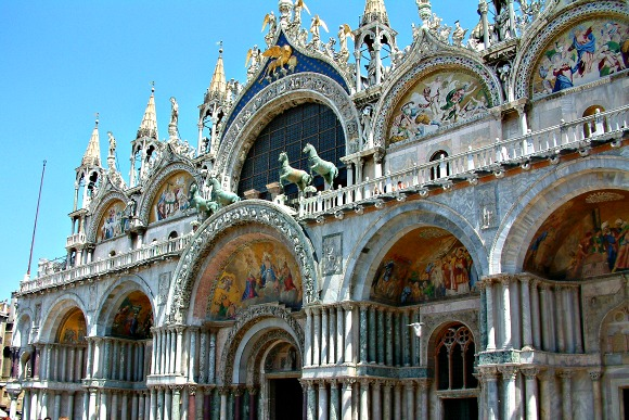 Venice St Mark's Basilica frontage