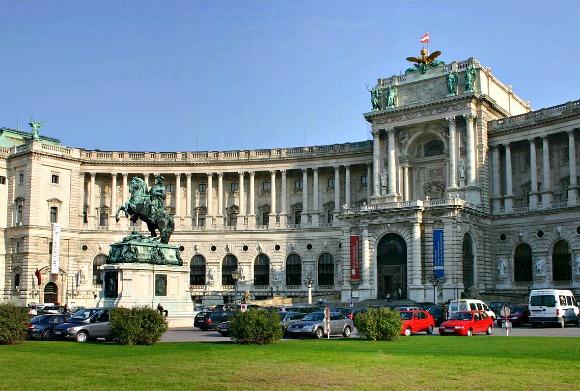 Vienna Hofburg Heldenplatz