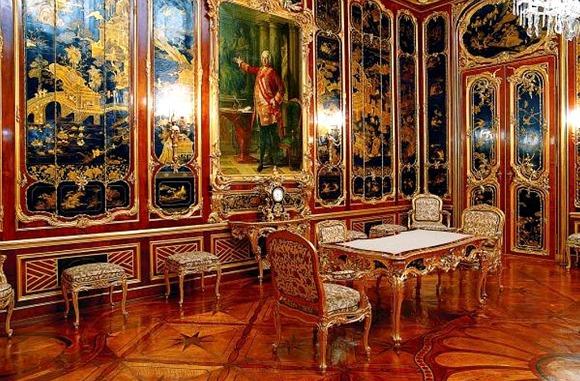 Vienna Schonbrunn inside
