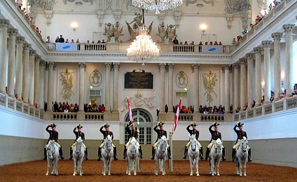 Vienna Spanish Riding School Salute