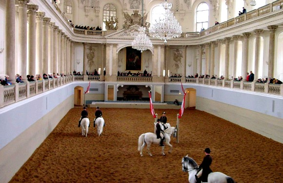 Vienna Spanish Riding School viewing gallery