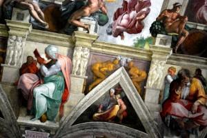 Rome Sistine Chapel roof (www.free-city-guides.com)