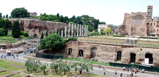 Roman Forum and Palatine Hill (www.free-city-guides.com)