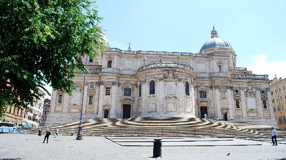 Rome Basilica di Santa Maria Maggiore external (www.free-city-guides.com)
