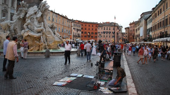 Rome Piazza Navona (www.free-city-guides.com)